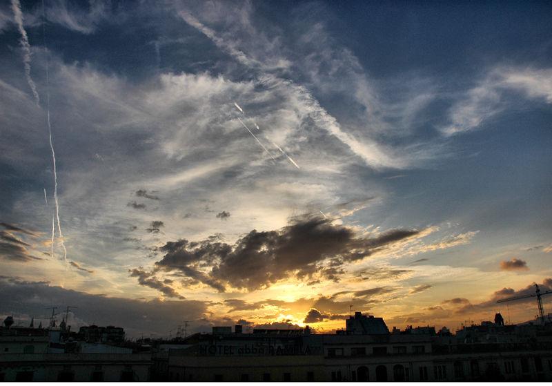 Barcelona Sunset Spain