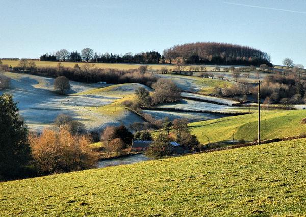 Paradise Hill Presteigne Powys Wales