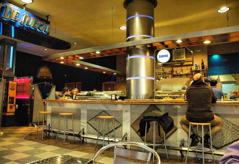 Cafe Malaga Andalusia Spain