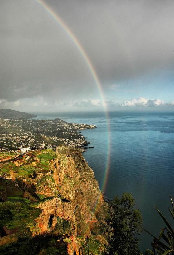 Rainbow Cabo Girao Madeira