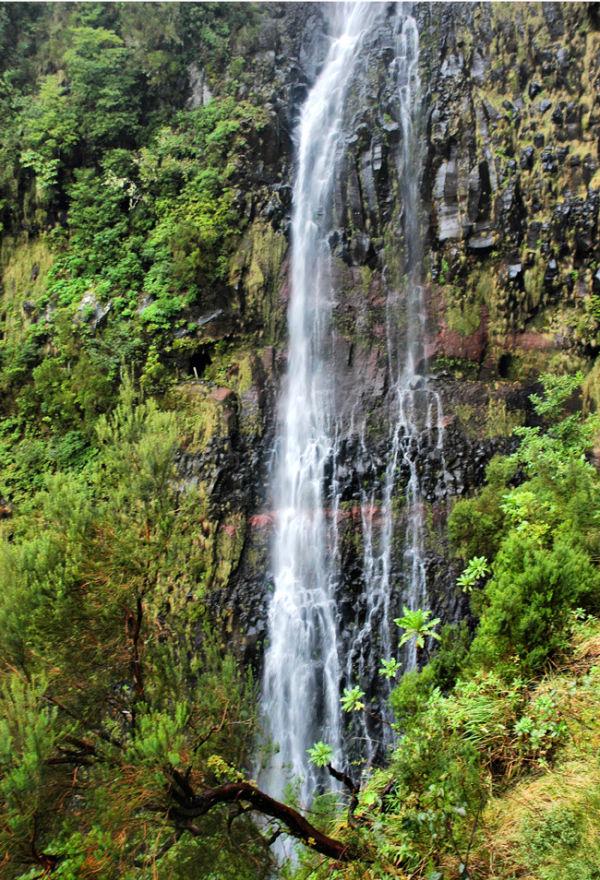 Waterfall Levada do Risco Madeira