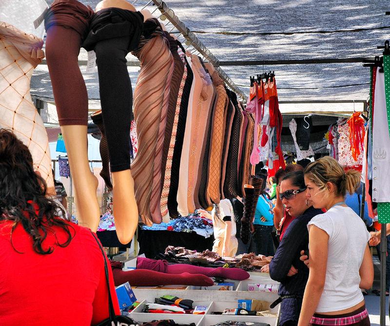 Market Velez Malaga Andalusia Spain