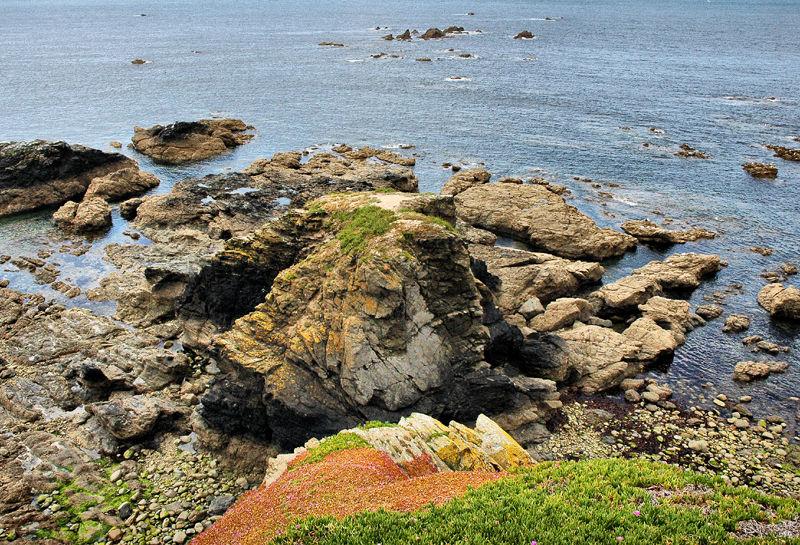 Lizard Coastline Cornwall UK