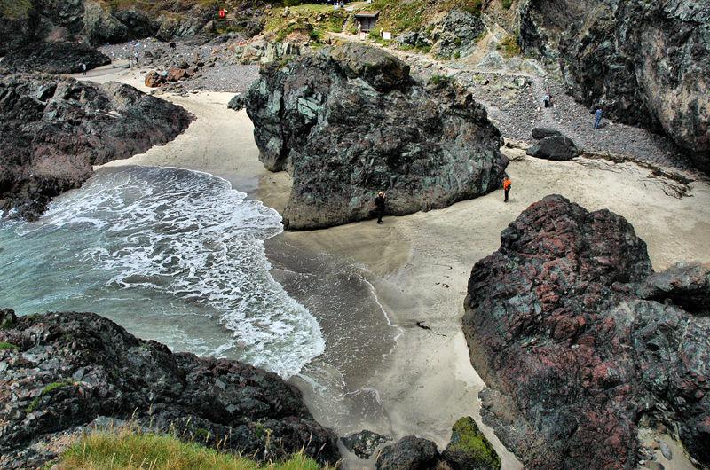 Kynance Cove Lizard Cornwall UK