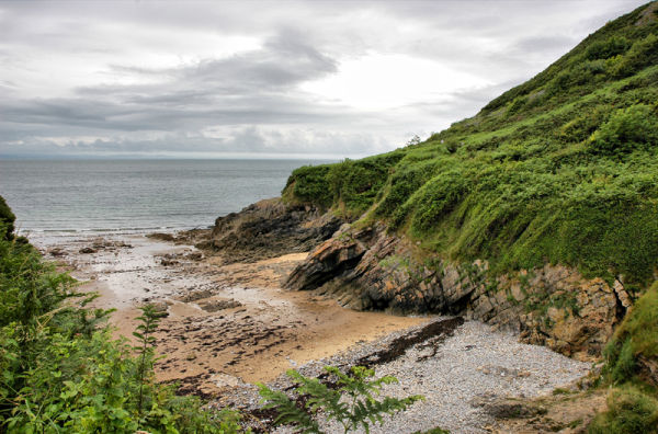 Brandy Cove Gower Wales