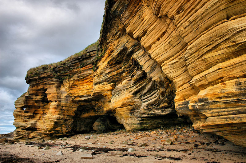 Covesea Moray Firth Scotland UK