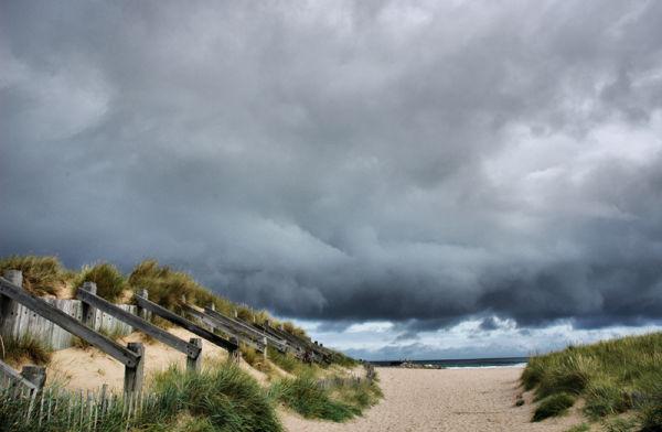 Lossiemouth Dunes Moray Firth Scotland