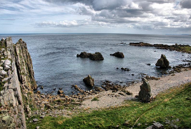 Logie Head Moray Firth Scotland
