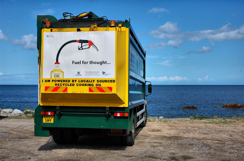 Recycle Moray Firth Scotland
