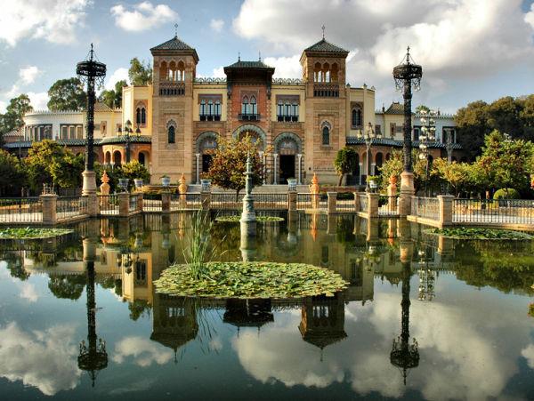 Museo de Artes y Costembres Sevilla Spain