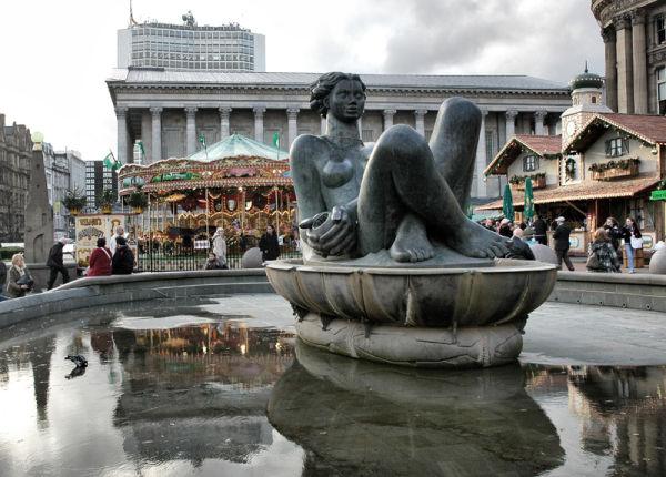 Fountain Birmingham West Midlands UK
