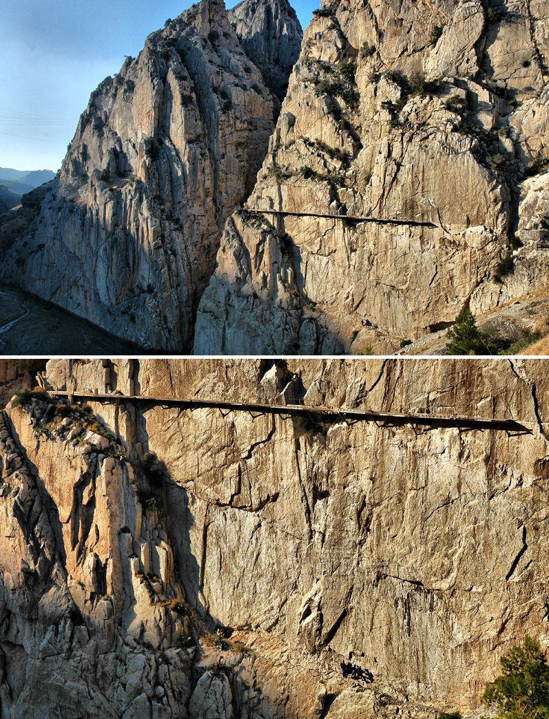 El Caminito Del Rey El Chorro Andalusia Spain