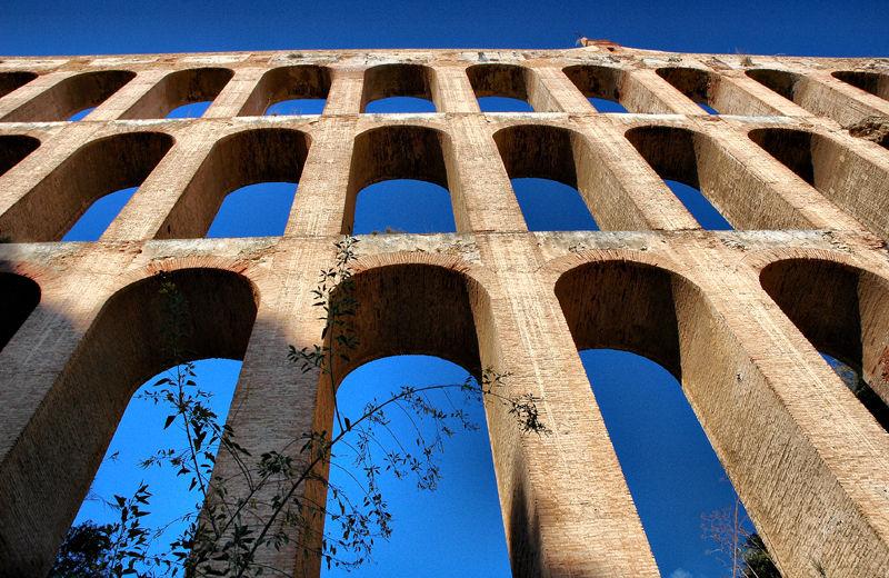 Aqueduct Axarquia Andalusia Spain