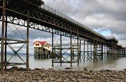 Pier Mumbles Gower Wales UK