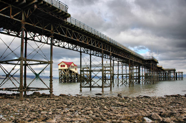 Pier Mumbles Gower Wales UK