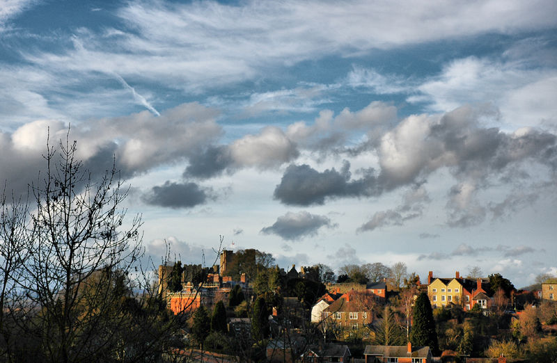 CloudsTown Ludlow Shropshire UK