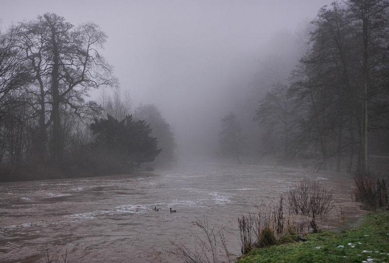 River Ludlow Shropshire UK