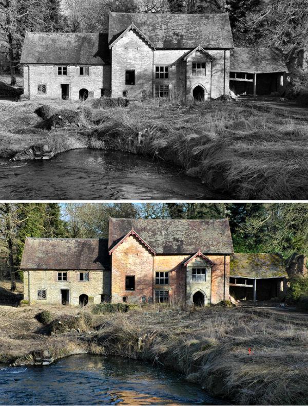 Mill Bromfield Shropshire UK