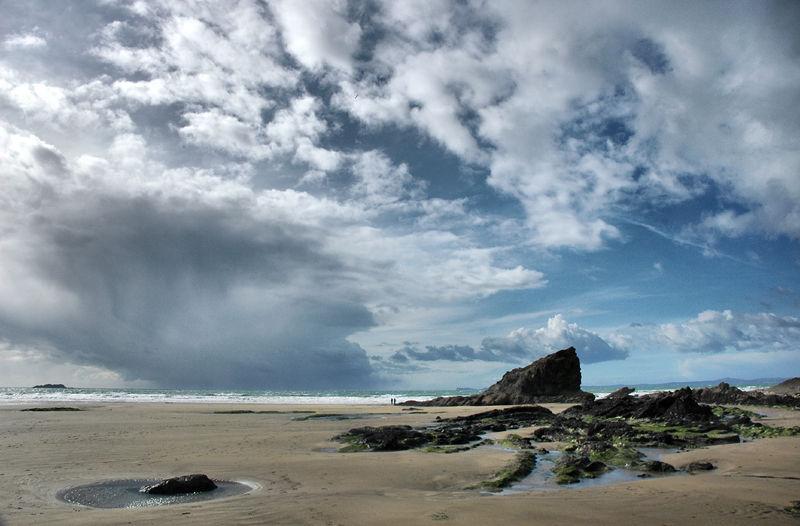 Broadhaven Beach Pembrokeshire Wales UK