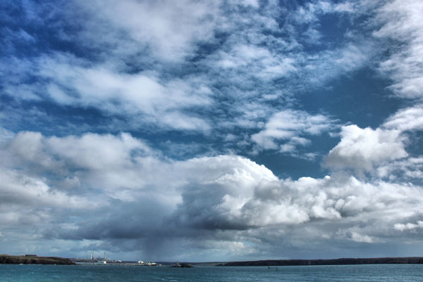 Milford Haven Pembrokeshire Wales UK