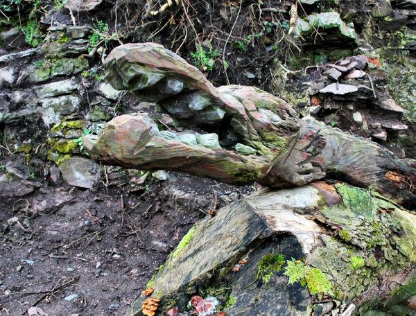 Chainsaw Art Dale Pembrokeshire Wales UK