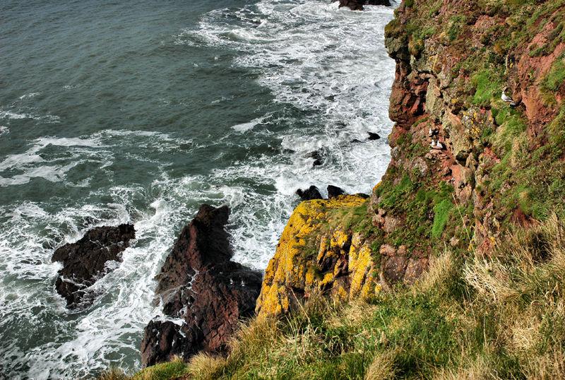Halfway Rock Pembrokeshire Wales UK