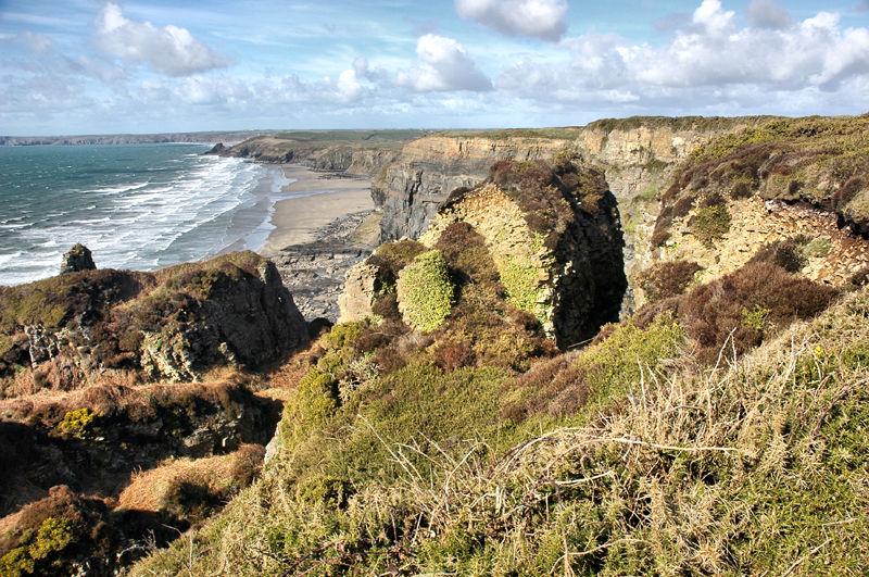 Black Point Pembrokeshire Wales UK
