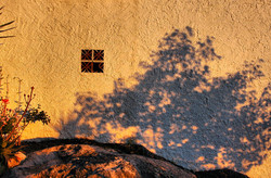 Shadow Comares Axarquia Andalusia Spain