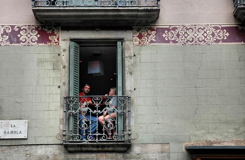 La Rambla Barcelona Catalunya Spain