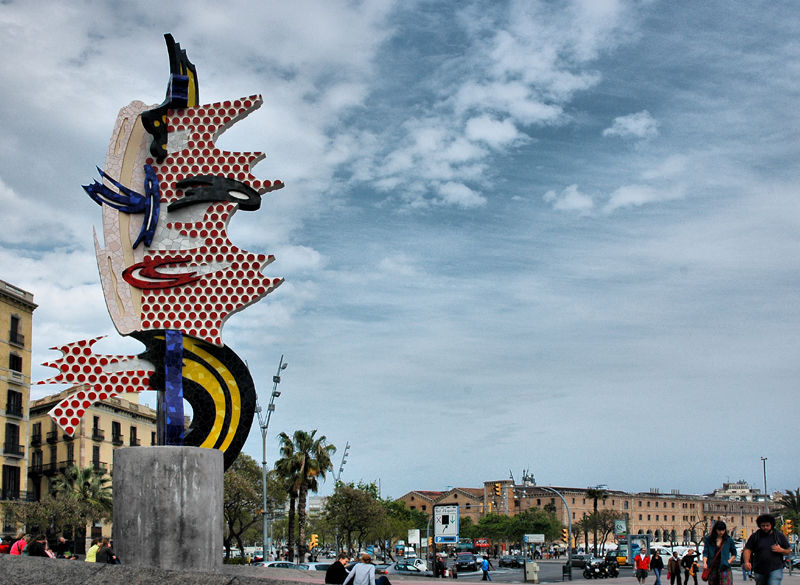 Lichtenstein Barcelona Spain
