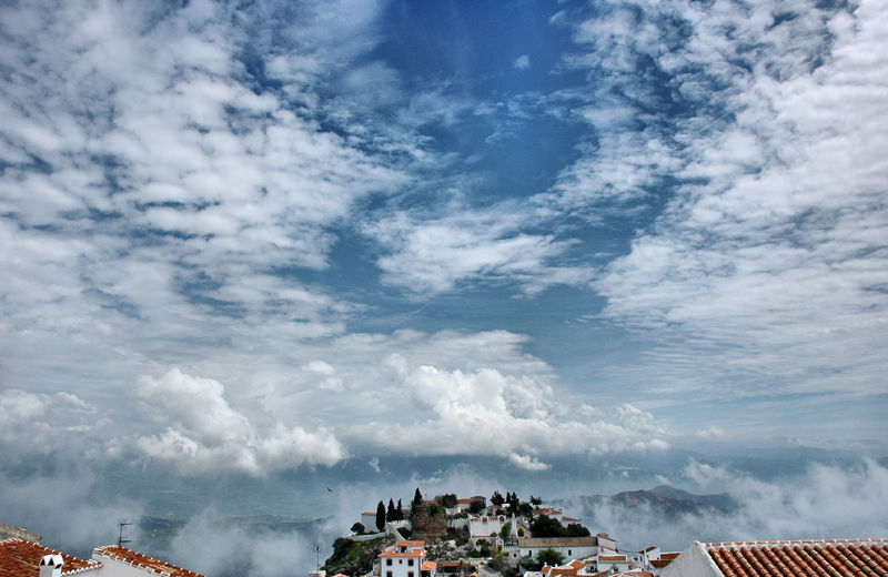 Early morning Comares Axarquia Spain