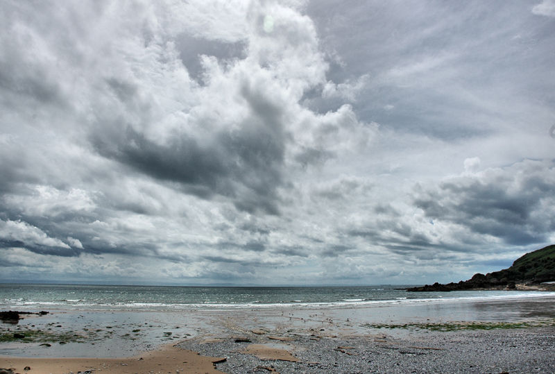 Pwlldu Beach Gower Wales UK