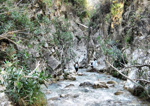 Rio Chillar Axarquia Andalusia Spain