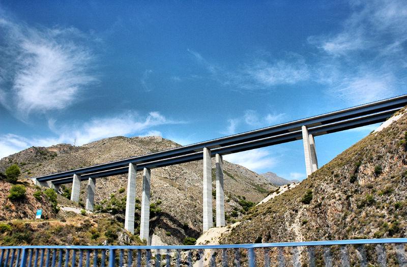 Autovia Axarquia Andalusia Spain