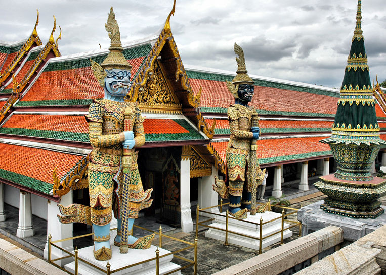Temple of the Emerald Buddha Bangkok Thailand