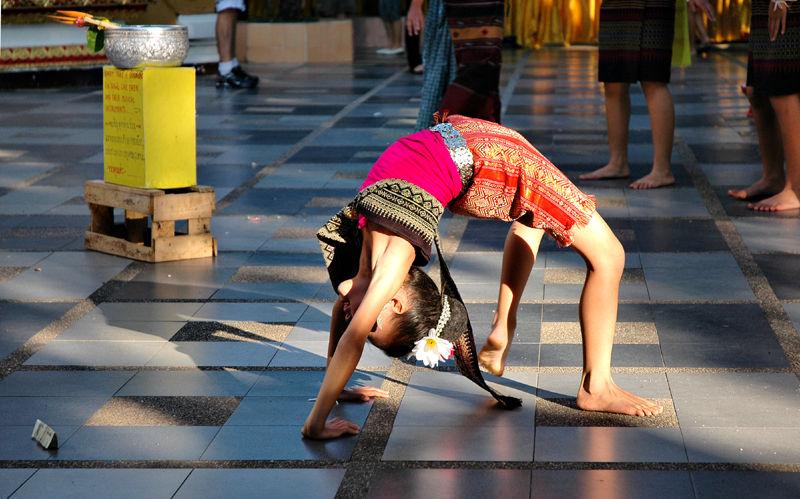 Dancer Doi Suthep Chiang Mai Thailand