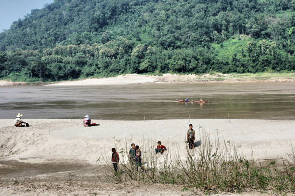 Peanut Planting Hmong Village Mekong Laos