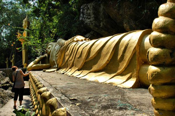 Reclining Buddha Luang Prabang Laos