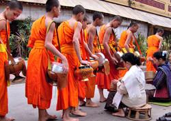 Monks Luang Prabang Laos