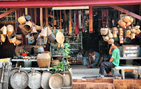 Basket Shop Luang Prabang  Laos