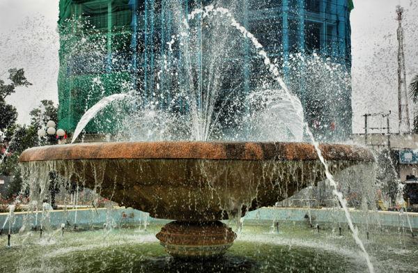 Fountain Vientianne Laos