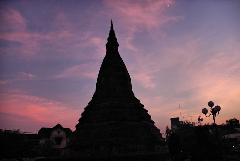 Stupa Vientianne Laos