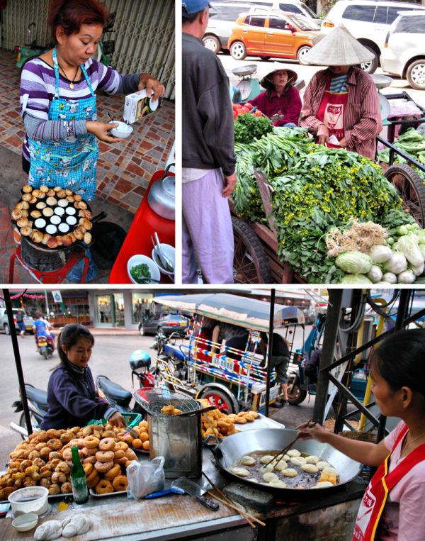 Street Food Vientianne Laos