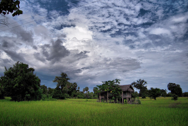 Clouds Rice Don Det Laos
