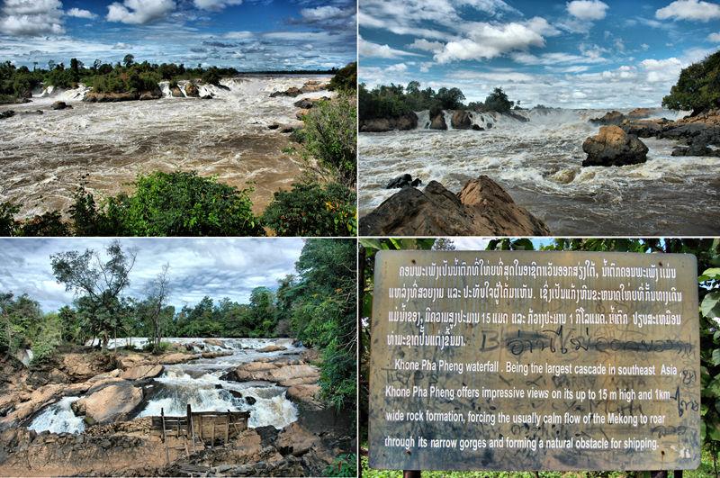 Waterfalls Four Thousand Islands Laos