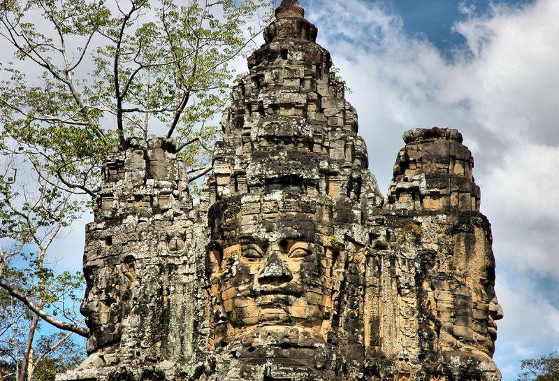 South Gate Angkor Cambodia