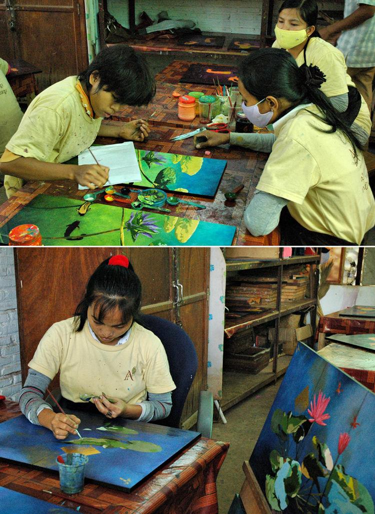 Artisans Siem Peap Cambodia
