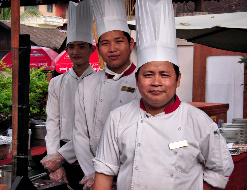 Chefs Water Festival Siem Reap Cambodia