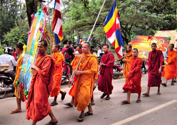 Parade Water Festival Siem Reap Cambodia