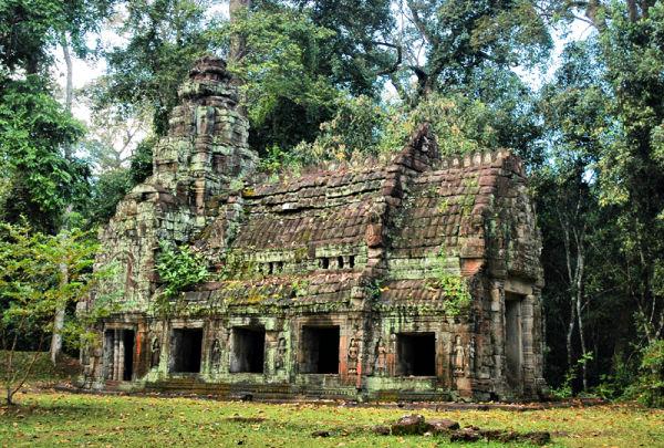 Preah Khan Angkor Cambodia